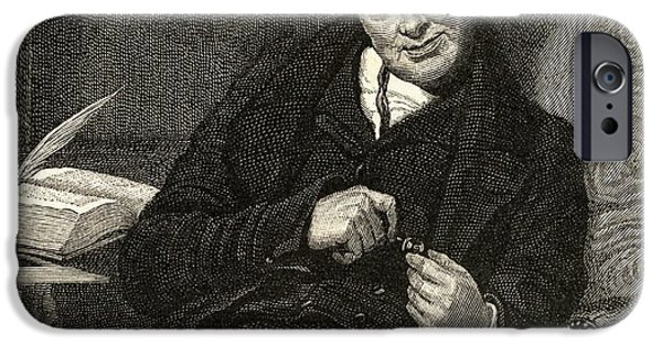 Politician iPhone Cases - William Wilberforce, 1759-1833. British iPhone Case by Ken Welsh