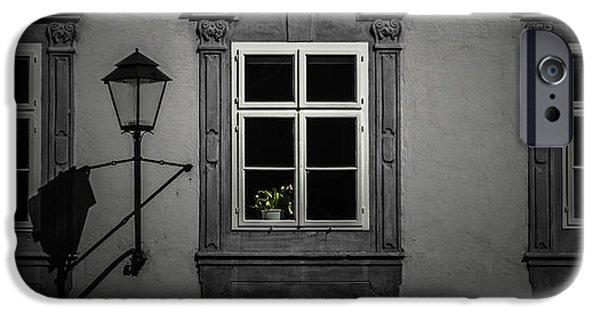 Salzburg iPhone Cases - Window garden iPhone Case by Chris Fletcher