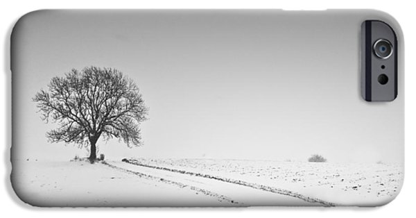 Snow iPhone Cases - Winter iPhone Case by Gerd Doerfler