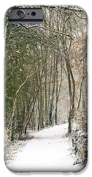 Swindon iPhone Cases - Winter Journey iPhone Case by Andy Smy