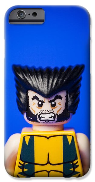 X Men iPhone Cases - Wolverine iPhone Case by Samuel Whitton