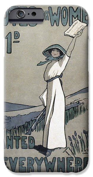1907 iPhone Cases - Womens Rights iPhone Case by Granger