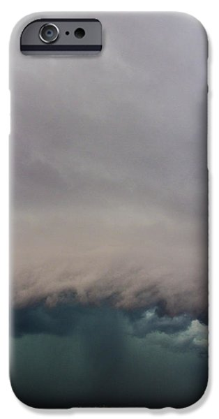 Nebraska iPhone Cases - 3rd Storm Chase of 2015 iPhone Case by Dale Kaminski