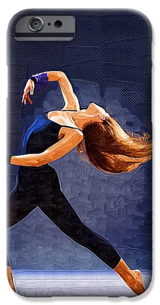 White House iPhone Cases - Dance I iPhone Case by Michael Vicin