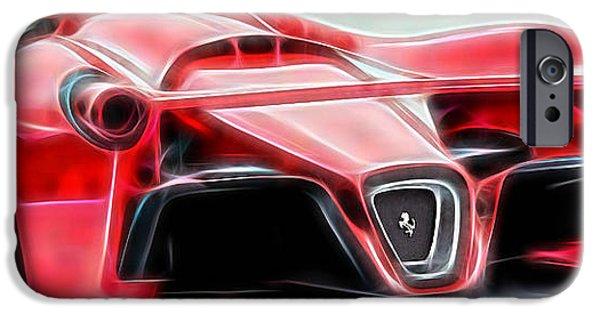 Racing iPhone Cases - Ferrari LaFerrari iPhone Case by Marvin Blaine