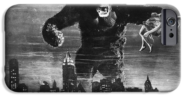 Fay iPhone Cases - King Kong, 1933 iPhone Case by Granger