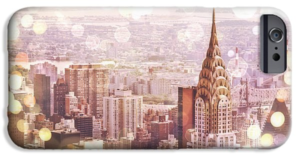 Bokeh iPhone Cases - New York City iPhone Case by Vivienne Gucwa
