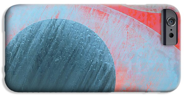 Sphere Paintings iPhone Cases - Untitled iPhone Case by Charlie Millar