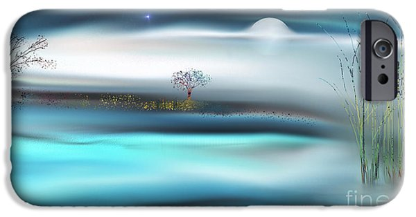 Concept Digital Art iPhone Cases - 1000 Miles From Nowhere iPhone Case by Yul Olaivar