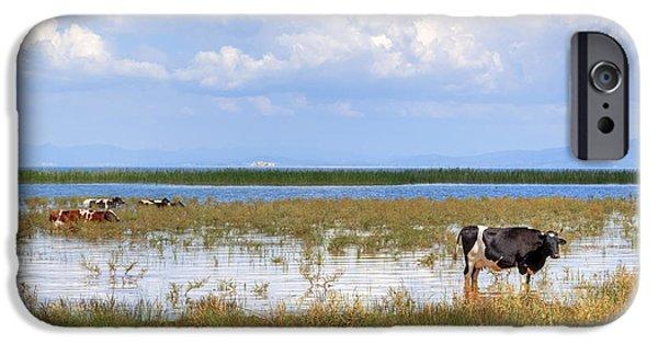 Asien iPhone Cases - Lake Beysehir - Turkey iPhone Case by Joana Kruse