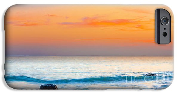 Con iPhone Cases - Sunset panorama iPhone Case by MotHaiBaPhoto Prints