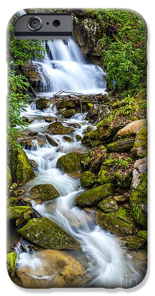 West Fork iPhone Cases - West Virginia Waterfall  iPhone Case by Thomas R Fletcher