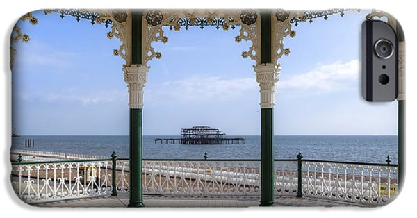 Bandstand iPhone Cases - Brighton iPhone Case by Joana Kruse