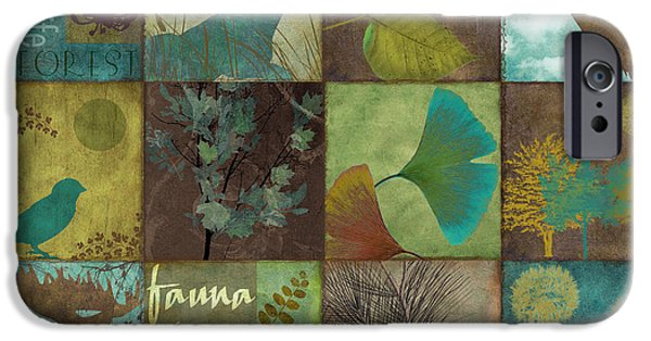 Fauna iPhone Cases - 12 Days in the Woods iPhone Case by Mindy Sommers