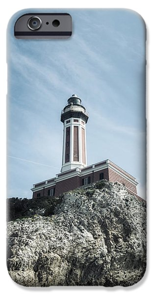 Lighthouse iPhone Cases - Lighthouse iPhone Case by Joana Kruse