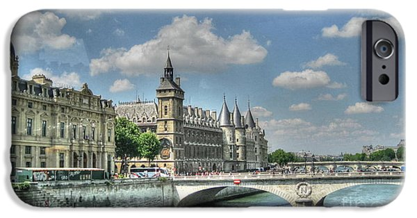 Young iPhone Cases - Paris iPhone Case by Yury Bashkin