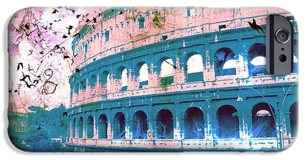 Epic iPhone Cases - Roman Colosseum iPhone Case by Marina McLain