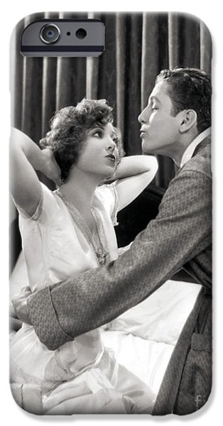 SILENT FILM STILL: COUPLES iPhone Case by Granger