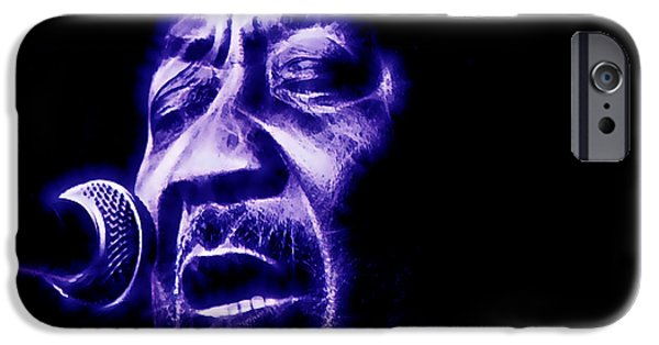 Chicago iPhone Cases - Muddy Waters Collection iPhone Case by Marvin Blaine