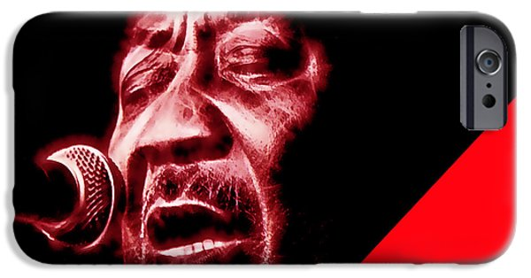 Best Sellers -  - Chicago iPhone Cases - Muddy Waters Collection iPhone Case by Marvin Blaine