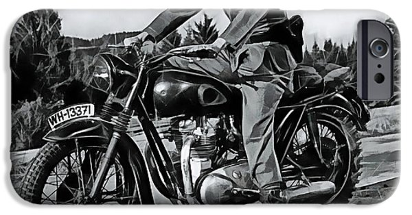Racing iPhone Cases - Steve McQueen Collection iPhone Case by Marvin Blaine