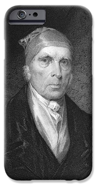 1833 Photographs iPhone Cases - James Madison (1751-1836) iPhone Case by Granger