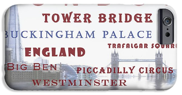 iPhone Cases - London iPhone Case by Joana Kruse