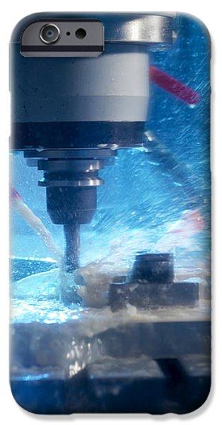 Metalwork iPhone Case by Tek Image