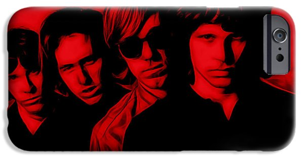 Pop Art iPhone Cases - The Doors Collection iPhone Case by Marvin Blaine