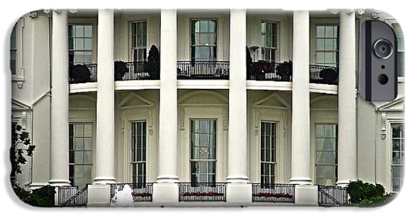Obama iPhone Cases - 1600 Pennsylvania Avenue iPhone Case by Casavecchia Photo Art