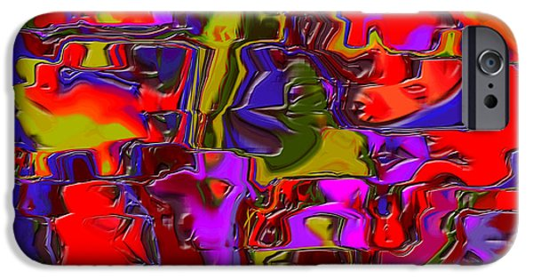 Abstract Digital Art iPhone Cases - 1696 Abstract Thought iPhone Case by Chowdary V Arikatla