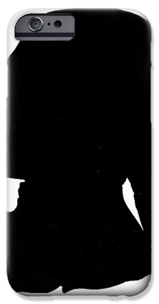 Harts iPhone Cases - George Washington iPhone Case by Granger