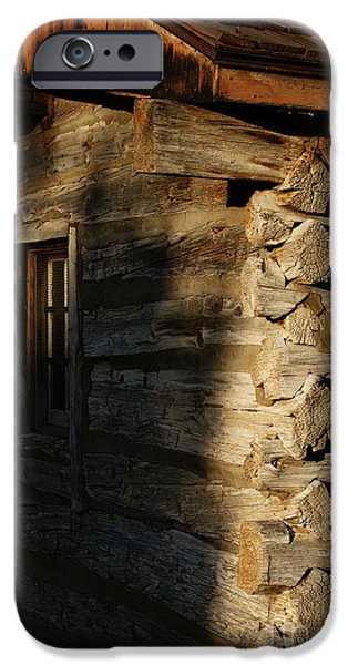 Best Sellers -  - Cabin Window iPhone Cases - 1854 iPhone Case by Linda Knorr Shafer
