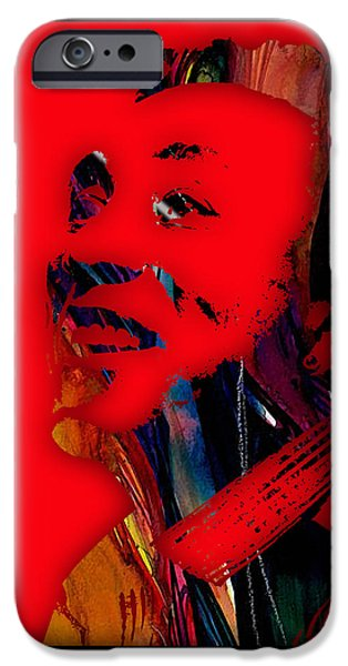 Soul iPhone Cases - Smokey Robinson Collection iPhone Case by Marvin Blaine