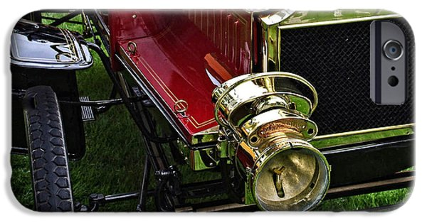 Old Cars iPhone Cases - 1904 Olds Two Seater Runabout iPhone Case by Thom Zehrfeld