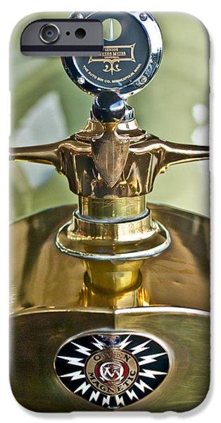 1917 Owen Magnetic M-25 Hood Ornament 2 iPhone Case by Jill Reger