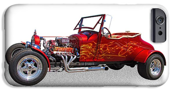 Jordan iPhone Cases - 1927 Ford Hot Rod iPhone Case by Nick Gray