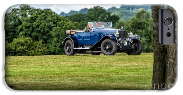 Vehicles iPhone Cases - 1930 Delage D8 iPhone Case by Adrian Evans