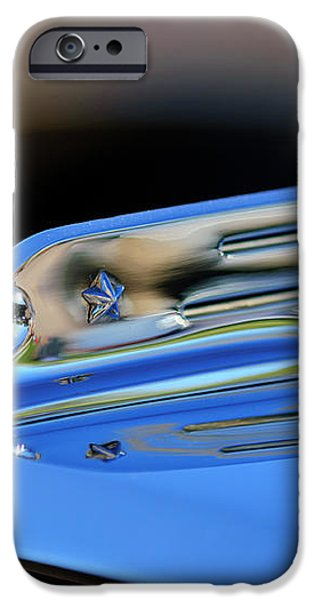 1931 Marmon Sixteen Coupe Hood Ornament 2 iPhone Case by Jill Reger
