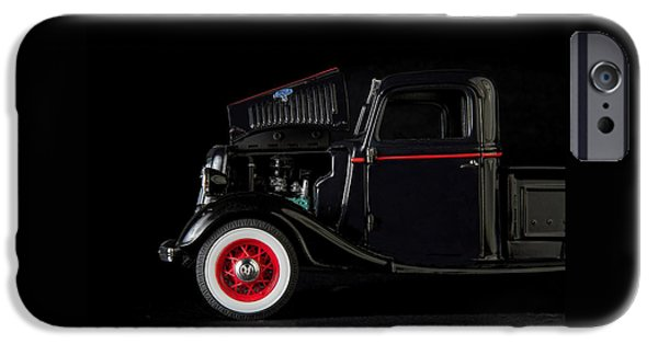 Model iPhone Cases - 1935 Truck- 3 iPhone Case by Rudy Umans