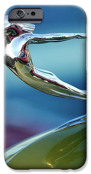 1936 Cadillac Hood Ornament 2 iPhone Case by Jill Reger
