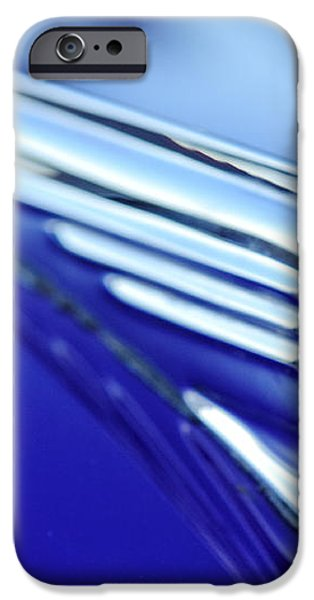 1939 Pontiac Coupe Hood Ornament 4 iPhone Case by Jill Reger