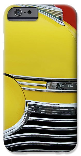 1941 Chevrolet Sedan Hood Ornament 2 iPhone Case by Jill Reger