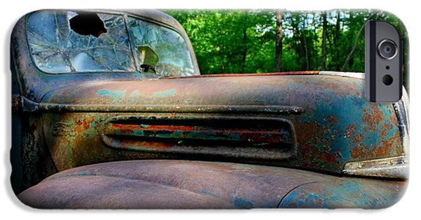Betty Ford iPhone Cases - 1942 Ford iPhone Case by Betty Northcutt