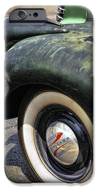 1946 Chevy Pick Up iPhone Case by Gordon Dean II