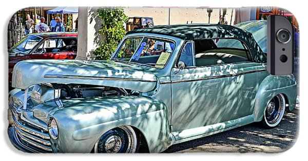 Automotive iPhone Cases - 1948 Ford Convertible iPhone Case by David Lawson