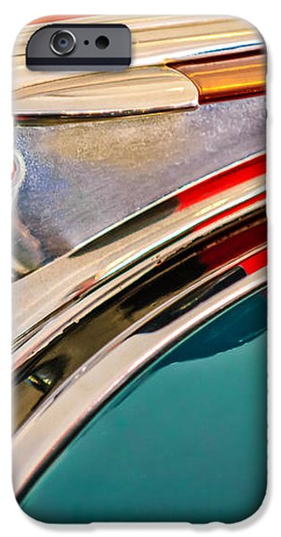 1948 Pontiac Chief Hood Ornament iPhone Case by Jill Reger