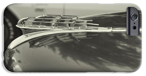 1949 Plymouth iPhone Cases - 1949 Plymouth Special  Deluxe iPhone Case by Cathy Anderson