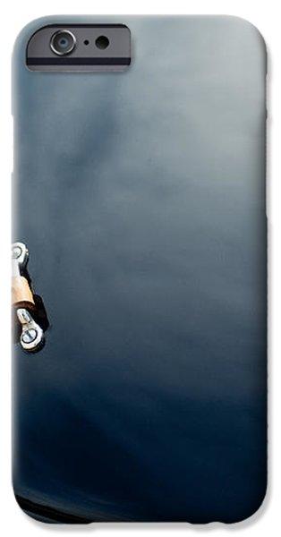 1950 Ferrari Hood Emblem iPhone Case by Jill Reger