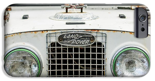 Buy iPhone Cases - 1952 Land Rover 80 Grille -0988c1 iPhone Case by Jill Reger